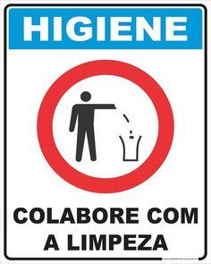 39ee97ec269c0 Placa Higiene CCL 20x25cm - Salvador Service Store Placas de Sinalização