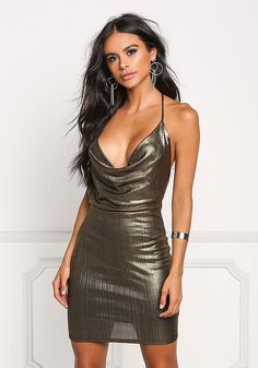 a0863f7abd0 27 best Gold bodycon dress images