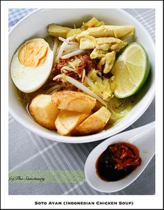 Soto Ayam (Indonesian Chicken Soup) ....  101 Healthy Recipes...   #soup #food #recipes #cooking #delicious #Yummy #dinner  #chickensoup #souprecipe Like and share it  please :) Thank you!!  #soup #food #recipes #cooking #delicious #Yummy #dinner #chickensoup #souprecipe