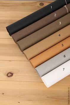 Купить Моющаяся крафт-бумага, 7 цветов - шитье, эко-стиль, Крафт-бумага, крафт