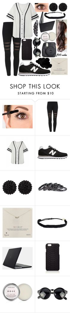 """Ariana Grande - Into you"" by jvc-nike ❤ liked on Polyvore featuring New Balance, sweet deluxe, Pieces, Dogeared, Pura Vida, Speck, GiGi New York and Herbivore"