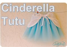 sewing tutorial for Cinderella tutu. baby girl is entering a princess phase.
