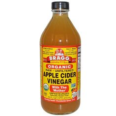 Apple cider vinegar provides many health benefits. Find out how to maximize the detoxifying benefits of apple cider vinegar. Braggs Acv, Apple Cider Vinegar Remedies, Unfiltered Apple Cider Vinegar, Organic Apple Cider Vinegar, Vinegar With The Mother, Biologique, Natural Remedies, Herbal Remedies, Holistic Remedies