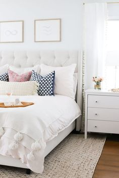Pure Joy - #bedroomdesign #serenaandlily #bedroomdecor #bedroomideas