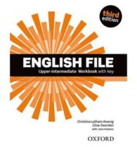 ENGLISH FILE UPPER-INTERMEDIATE: WORK BOOK WITH KEY (3RD EDITION)