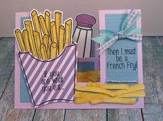 Vanessa's Paper Creations: French fries...