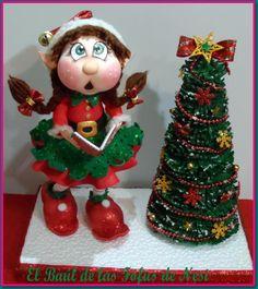 Fofucha duende, o elfo navidad