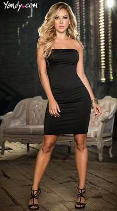 Black Two Piece Dress, Convertible Long Black Dress, Pretty Two Piece Gowns