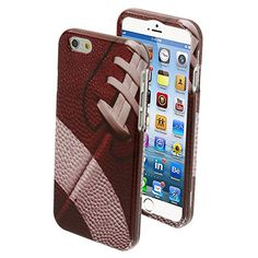 iPhone 6, 5/5S, 5C - Game Time Super Bowl Football Rugged Case