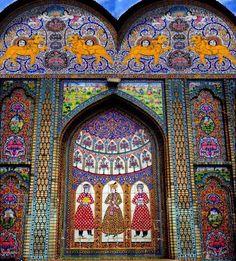 Tile work Naranjestsn, Iran