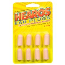 Ear plugs-- a must for drowning out noisy neighbors and crying babies.