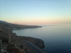Overview of Sfakia,Crete