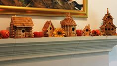 collection of cork houses
