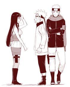 Naruto celoso de el mismo