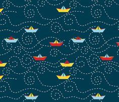 Children's Spaces | Patterns for Babies | Art Print | Illustration | Poster | Decoração Infantil | Padronagem para Bebês | Wallpaper | Ilustração para Impressão  #sea #ahoy #anchor #fish #ocean #captain #pirate #shark