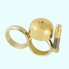 Sports Runbell Finger Stress Reducing Ring Bell For Runners Skaters Gold #Affiliate