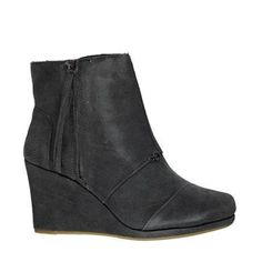 Toms Desert Wedged Boots