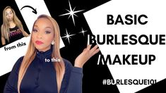 Burlesque Makeup, Showgirls, Starter Kit, Face, Youtube, The Face, Faces, Youtubers, Youtube Movies