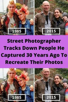Street Photographer Tracks Down People He Captured 30 Years Ago To Recreate Their Photos Funny Memes, Hilarious, Big Music, How To Be Likeable, Street Photographers, Latest Pics, Weird Facts, Funny People, 30 Years