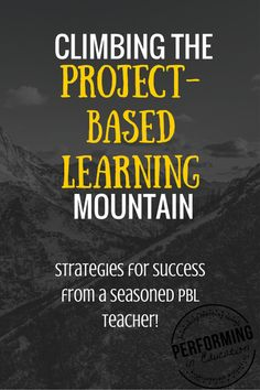 Five awesome tips on how to start project-based learning and continue when it gets tough! I love doing PBL in my class!