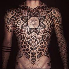 sacred geometry tattoo 11