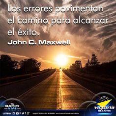 #BuenosDías amigos de #TuRadioVialInformativa ... no temas pavimentar tu camino... el éxito te espera. #FelizJueves