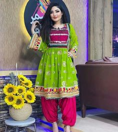 Afghan Clothes, Afghan Dresses, Muslim Fashion, Traditional Outfits, Asian, Culture, Womens Fashion, Cable, Designers