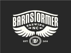 Barnstormer Brewing Logo by Lauren Dickens