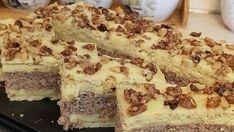 Ingrediente & ingredients: Bezea& Meringue: - 8 albusuri - 8 egg whites - 200 g zahar - 200 g sugar - 350 g nuca de cocos - Hungarian Desserts, Hungarian Cake, German Desserts, Hungarian Recipes, Deutsche Desserts, Poppy Cake, Cake Recipes, Dessert Recipes, Cake Cookies