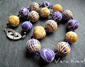 Artisan Necklace Polymer Clay