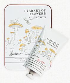 Willow + Water Handcreme by Library of Flowers #handcreme #libraryofflowers #cutgreens #floweringlotus #watercress #gift #maripoza #boutique #rgv