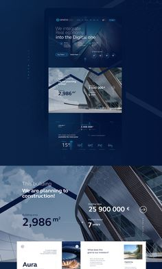Genesis Token Sale on Behance Portfolio Website Design, Website Design Layout, Web Layout, Layout Design, Landing Page Inspiration, Website Design Inspiration, Design Sites, App Design, Corporate Website