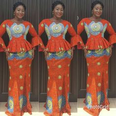 Latest Ankara Dresses, Ankara Dress Styles, Latest African Fashion Dresses, African Print Fashion, Africa Fashion, Ankara Fashion, Blouse Styles, African Wear, African Attire