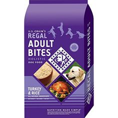 Regal Holistic Adult Bites Dry Dog Food (15lb Bag) @@ You can click image for more details. (This is an affiliate link and I receive a commission for the sales)
