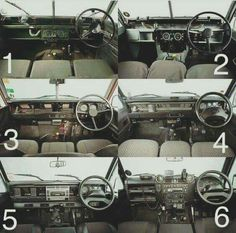 Land Rover Series and Defender interior design evolution. Series II. IIA. III and Defender Tdi. Td5. Td4( the last production). Lobezno