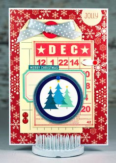 Jolly Holiday Christmas in July Christmas Card by thecardkiosk