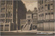 Ansichtskarten-Lexikon :: Barkhof - Mönckebergstraße, Geschäfte :: Altstadt-Hamburg