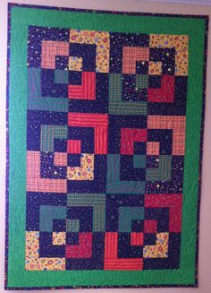 Hey, I found this really awesome Etsy listing at https://www.etsy.com/listing/221232072/outer-space-bento-box-style-quilt-child