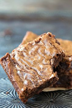 Better than Box Mix Brownie Recipe