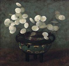 Jan Mankes - Judaspenning in Japanse vaas, 1915