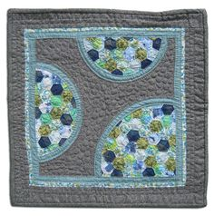Grandma's Dresses quilt... wouldn't matter what pattern you used, using scraps from a relative's wardrobe is a wonderful idea! Patchwork, Grandma Dress, Hexagon Quilt, Hexagons, String Quilts, American Quilt, Quilt Making, Quilt Blocks, Quilting Designs