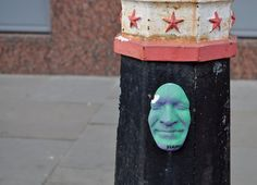 Gregos Street Art in East London