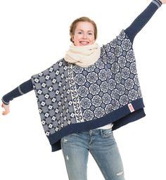 308 Snowboard pullover - A Knit Story Knitting Designs, Knitting Patterns Free, Knit Patterns, Crochet Wrist Warmers, Pullover Mode, Sewing Shirts, Fair Isle Knitting, Boro, Sweater Fashion