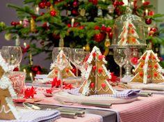 decoracion de navidad estilo americano galletas origami ideas