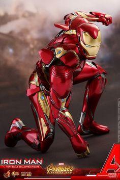 Marvel Iron Man Sixth Scale Figure by Hot Toys Marvel Heroes, Marvel Avengers, Marvel Comics, Iron Man Suit, Iron Man Armor, Spiderman, Arte Dc Comics, Best Superhero, Marvel Cinematic Universe