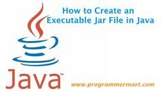Jar file is a Java executable file. You don't need to compile and run your program once you have created a jar file of your program. This will make it exe..
