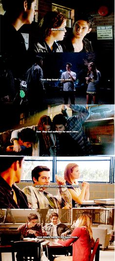 These three, how they loved each other, how they suffered for each other, and yet how much joy they clearly took from simply being in the same room. #teenwolf