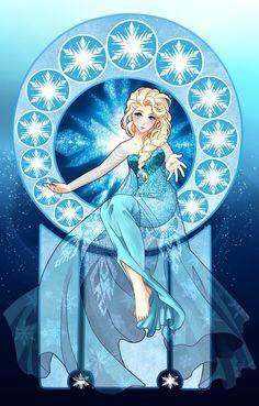 Elsa the Snow Queen by Ichigokitten on deviantART