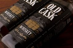 Old Cask on Packaging of the World - Creative Package Design Gallery