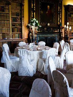 Downton Abbey/Highclere Castle Wedding Dinner